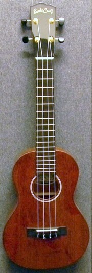 santa cruz guitars Ukulele concert