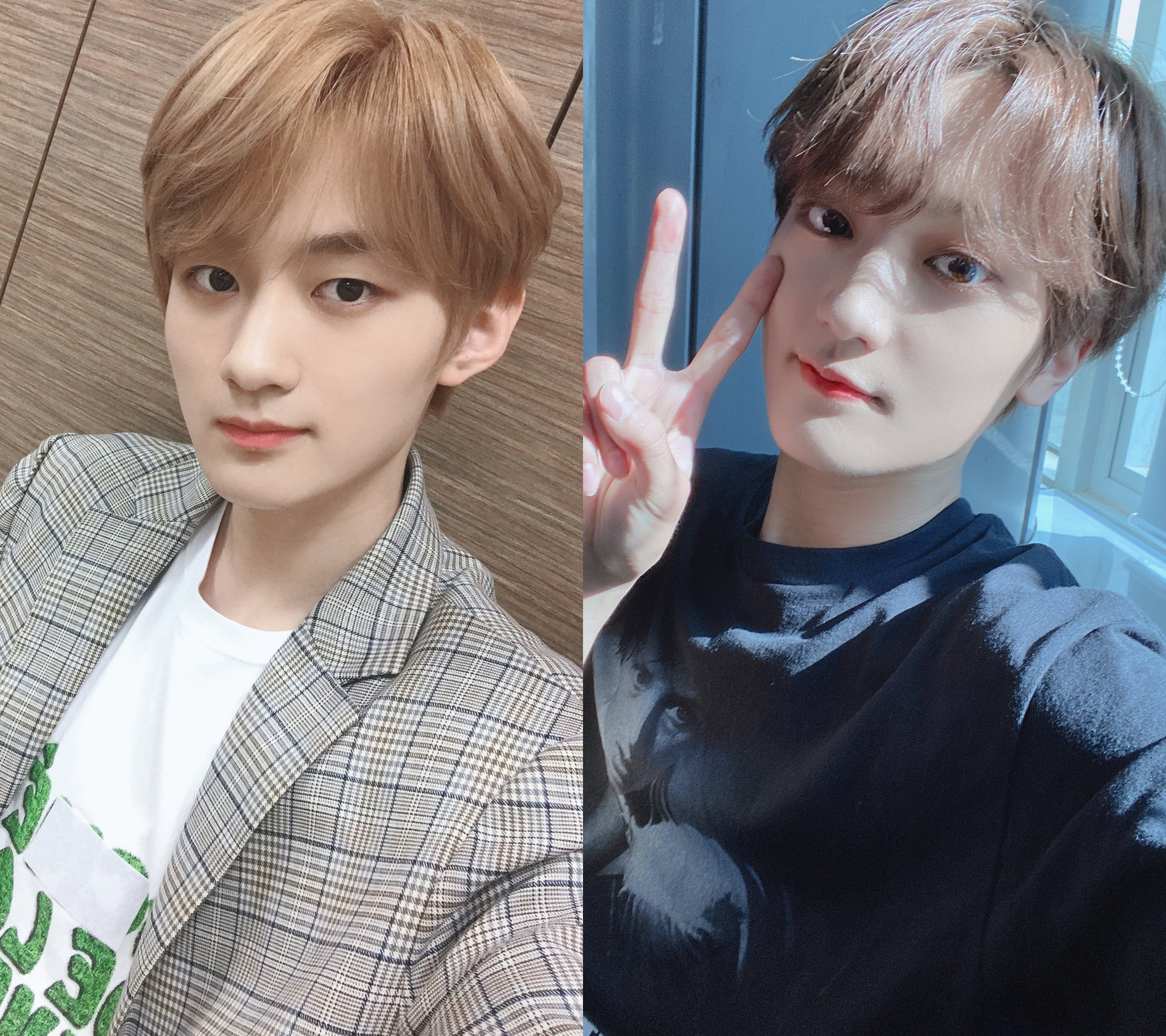 1 verivery yongseung cravity taeyoung blond hair lookalike