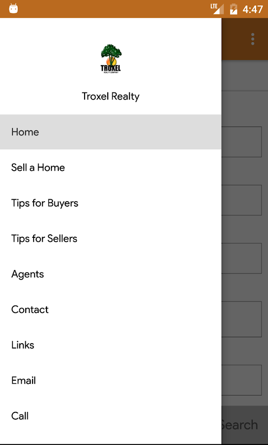Troxel Realty- screenshot