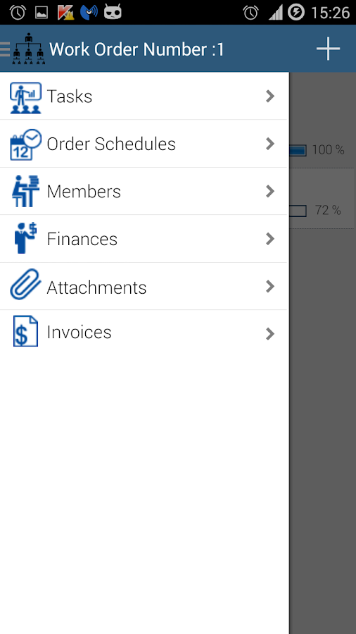 Work Order Tracking- screenshot