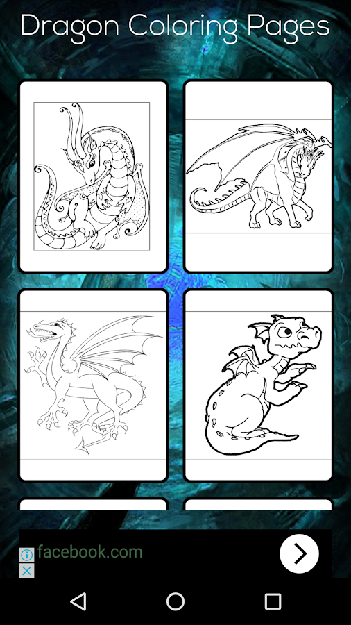 Dragon Coloring Book Screenshot