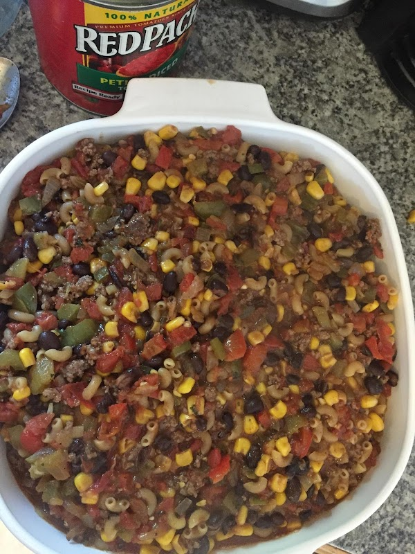 Bring ingredients to a boil on stove while stirring well. Remove from heat. Mix...