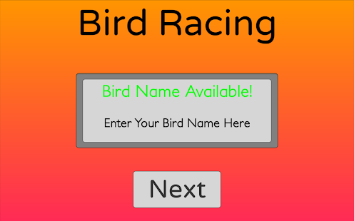 Bird Racing- screenshot thumbnail