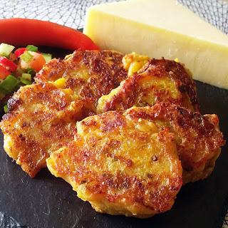 Masala Cheese Pancakes Recipe