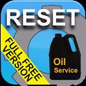 Vehicle Service Reset Oil icon