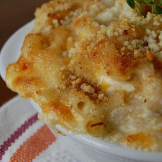 Crab Macaroni and Cheese.