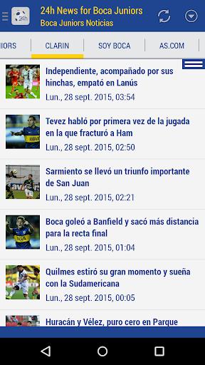 Foto do Boca Juniors Noticias 24h