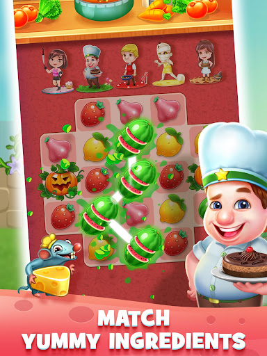 Fantastic Chefs: Match 'n Cook - screenshot