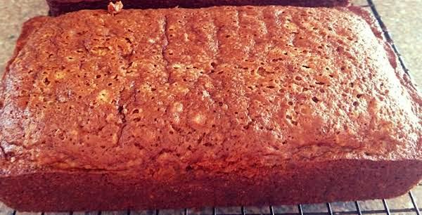 Spiced Banana Cream Bread
