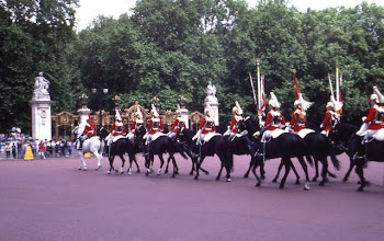 Photo: Changing of the Guard at Buckingham Palace