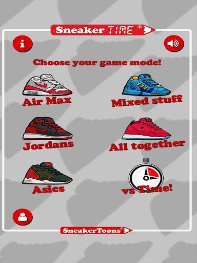Sneaker TIME FREE - Quiz