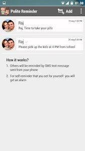 Schedule Text Messages app screenshot 1