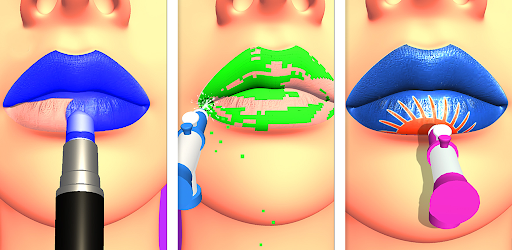 Lips Done Satisfying 3d Lip Art Asmr Game Apps On Google Play