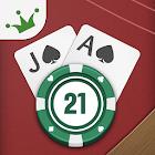 Royal Blackjack Casino: 21 Card Game icon
