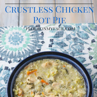 Crock Pot Crustless Chicken Pot Pie.