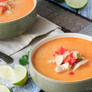 Thai Chicken and Vegetable Soup.