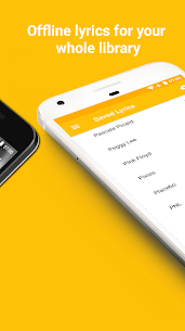 QuickLyric – Instant Lyrics Mod 3.9.0c Apk [Unlocked] 3