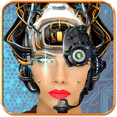 Robotic Face Photo Editor App