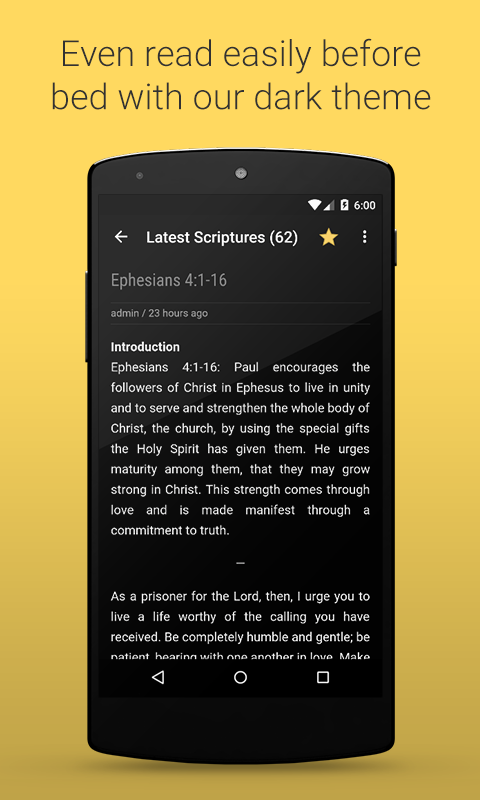 Daily Scriptures- screenshot