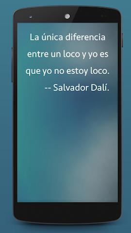 android Frases de Arte Screenshot 1