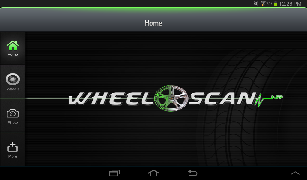 Wheel Scan App- screenshot