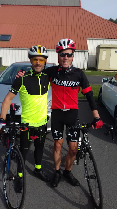 Dimanche 3 Septembre 2017: 63km vélo de route, reprise cool dans vélo de route