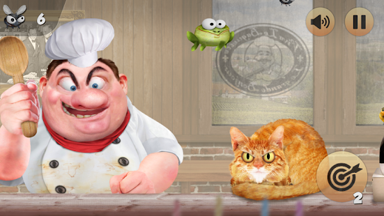 Froggy Ribbit: outrun the chef- screenshot thumbnail