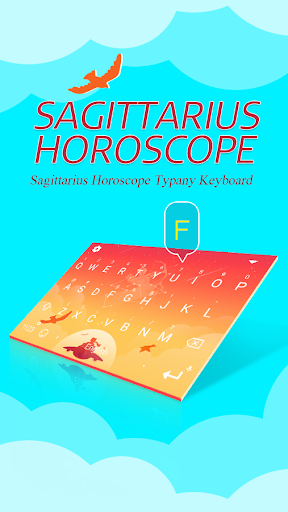 mod Sagittarius Horoscope Keyboard 4.5 screenshots 1