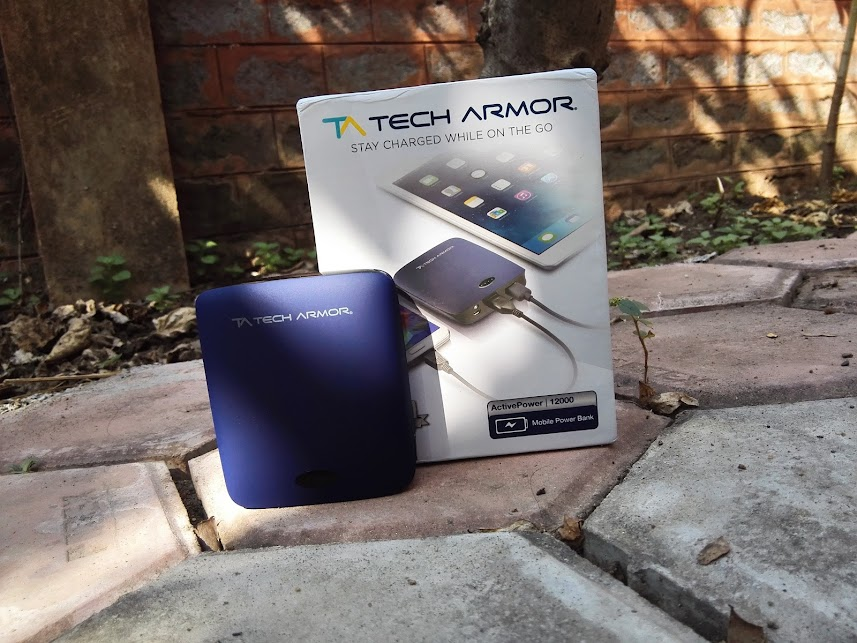 techarmor power bank portable reliable 12000 mah review hands on unboxing