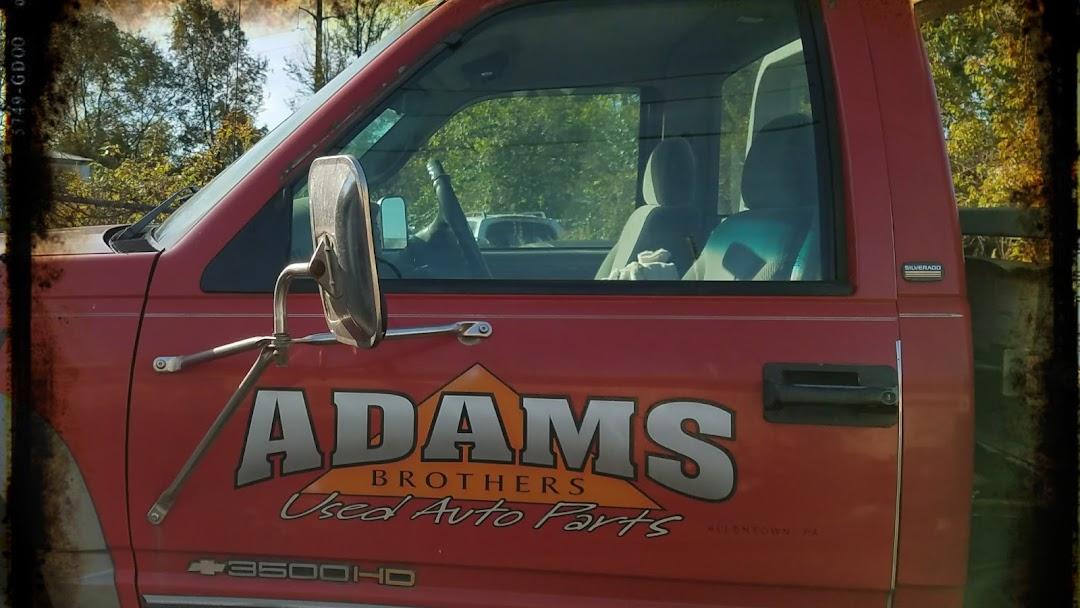 Adams Auto Parts >> Adams Brothers Used Auto Parts Junkyard In Allentown