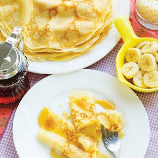 Thin Breakfast Crepes.