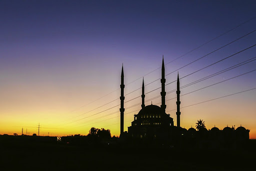 The Nizamiye  Masjid mosque in Midrand is said  to be the biggest  in the southern hemisphere. Picture: Moeletsi Mabe