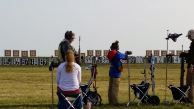 "Photo: Col. Andy & Hana Shooting the ""Hurst Doubles"""