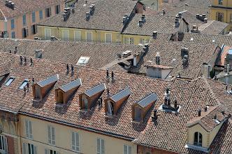 Photo: Tetti del palazzo Liberty di Piazza Medici