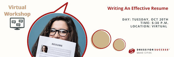 Virtual Workshop: Writing An Effective Resume