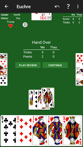 Euchre by NeuralPlay screenshots 2