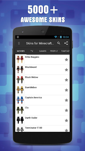 Skins for Minecraft PE 1.6 screenshots 4