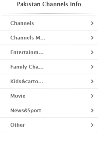 Pakistan Channels Info