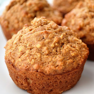 Healthy Oatmeal Muffins.