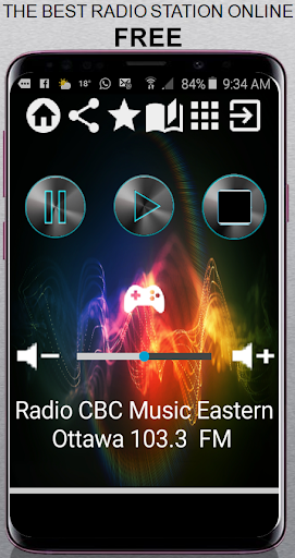 ca radio cbc music eastern ottawa 103.3 fm app rad screenshot 1