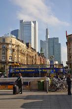 Photo: Frankfurt from train station