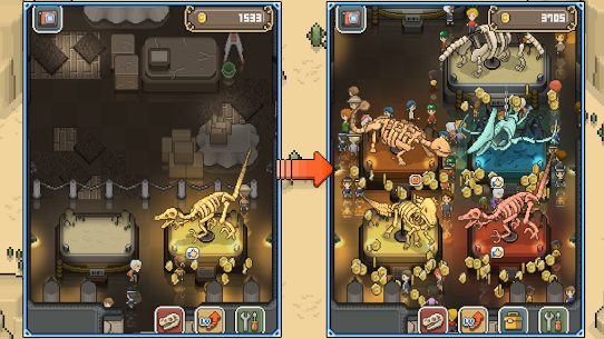TAP DIG MY MUSEUM Mod Apk 1.7.5 (Unlimited Coins) 5
