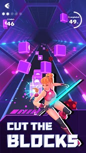 Beat Saber Rhythm Game MOD APK [VIP Subscription Unlocked] 5