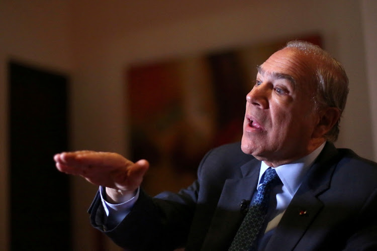 OECD secretary-general Angel Gurria. Picture: REUTERS
