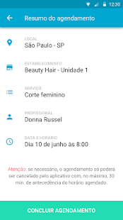 MyTime Agendamento Online- screenshot thumbnail