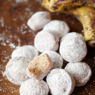 Powdered Banana Donut Muffins Recipe