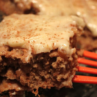 Gluten-Free Cinnamon Apple Cake With Cream Cheese Frosting