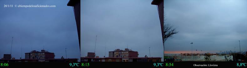 Photo: Amanecer del día 20/01/11