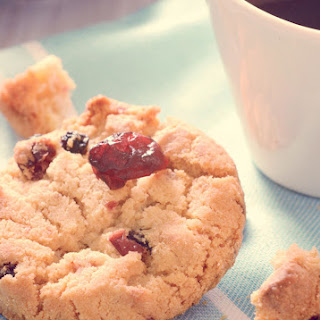 Almond Flour Mini Chocolate Chip Cranberry Cookies