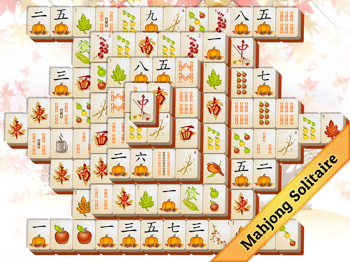 Fall Mahjong- screenshot